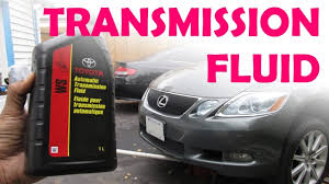 Toyota / Lexus Sealed WS Transmission Fluid Change - YouTube
