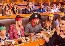 Pirates Seating Chart Prices Vip Upgrade Pirates Dinner Adventure