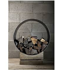 Above: The Rustic Log Holder from Civico Quattro in Italy is a favorite; go  to Civico Quattro for ordering information.