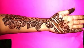Beautiful Arabic Mehndi Design On Left Hand Youtube