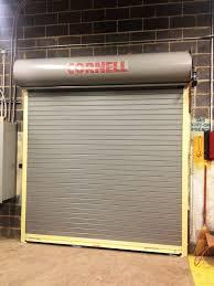 insulated roll up garage doorsCommercial Door Projects  Ben Druck Door Company