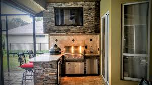 outdoor kitchen tampa install