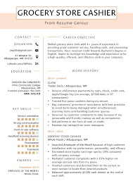 Grocery Store Resume Grocery Store Cashier Resume Sample