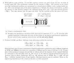 Chemical Reaction Engineering Problems Mainly Fro