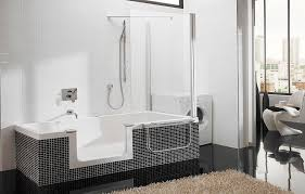 home and furniture best choice of walk in tub and shower combo twin line bathtub
