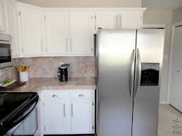 Small Picture White Kitchen Cabinets With Black Appliances White Varnished