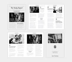 The Changing Times Newspaper Template The Ultimate Guide For Your School Newspaper