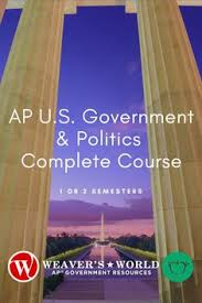 The district making up the area from which an official is elected. 10 Ap Gov Resources On Tpt Weaver S World Ideas Government Course Syllabus Classroom Material