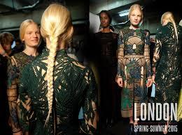 Nápady Na účesy Pro Jaro A Léto 2015 Z Londýnských Přehlídek Vlasy