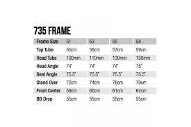Leader 735 Frame White