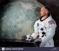 """Houston, TX-Datei Foto - - Alternative Portrait von Edwin E."""" """"Buzz"""" Aldrin,  Jr., Lunar Module (LM) Pilot von Apollo 11 Mondlandung Mission am 1. Mai  1969 berücksichtigt. Apollo 11 war zum zweiten"""