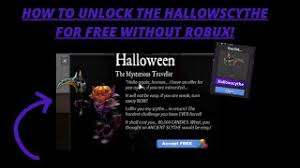 Getting the brand new anceint hallow scythe (murder mystery 2 halloween 2020 update) подробнее. How To Unlock All The Tiers And Claim The Hallows Scythe For Free In Roblox Mm2 Without Robux Youtube