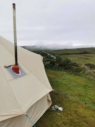window firebox tent stove