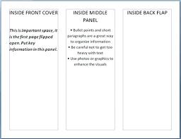 Pamphlet Template Microsoft Word Brochure Template Microsoft Word 2010 How To Inside Blank Margines
