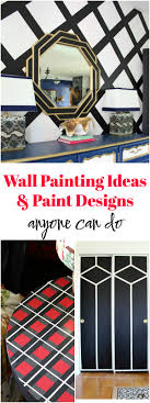 Wall Paint Patterns Custom Inspiration Design