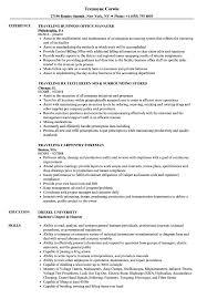 Traveling Resume Samples Velvet Jobs