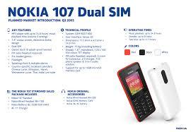 "Nokia 107 Dual SIM 1.8"" 75.8g Black ..."