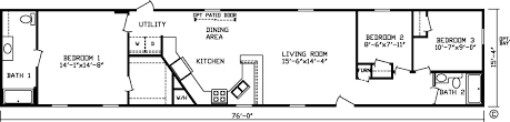 Single Wide Mobile Home Floor Plans 2 Bedroom Showing Post Media For Single Wide Mobile Home Cartoon Www