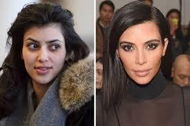 kim kardarshian without makeup photos