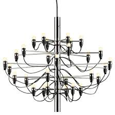 flos official 2097 50 chandelier modern pendant lighting by gino sarfatti