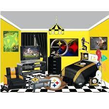 pittsburgh steelers bedding set bedroom decor home decor interior lighting design ideas on boys football decor