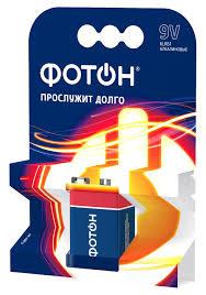 Батарейка <b>ФОТОН</b> 6LR61 / <b>Крона</b> 9V