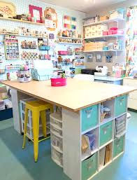 Office craftroom tour Family Have Lots Of Craft Supplies So Having Designated Place To Put Everything Is Crucial For Keeping My Craft Room Tidy And Organized Happiness Is Homemade Craft Room Tour Happiness Is Homemade