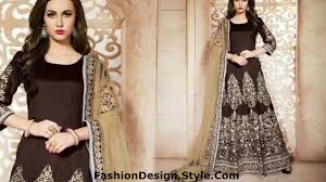 Famous Dress Designers 2017 Latest Anarkali Dresses Designs For Wedding Engagement 2017