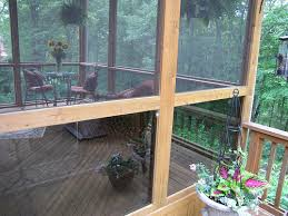 screened in deck. Deck Construction And Screening Process Screened In O