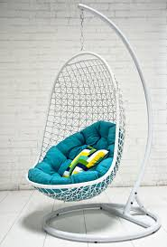 outdoor hanging rattan chair