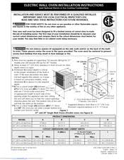electrolux ew30ew55gs 30 single electric wall oven manuals electrolux ew30ew55gs 30 single electric wall oven installation instructions manual 24 pages