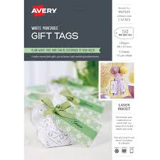 Avery Gift Tags Avery Gift Tags 89 X 51mm 50 Pack
