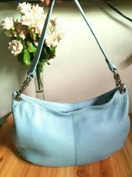 authentic pelle studio wilson s soft leather hobo bag like new on carou