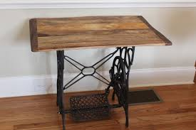 2 Side Tables  Sewing Machine Base