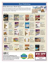 Rose Book Of Bible Charts Maps Time Lines Preview By Rose