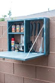 brilliant outdoor grill storage cabinet 34 best home image on idea future house and 6 unique version of a d i y serving station cart table