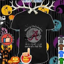 Crimson Tide Christmas Lights Alabama Crimson Tide Merry Christmas To All And To All A