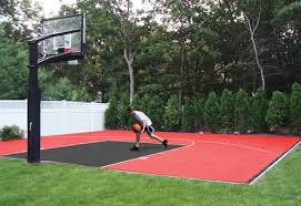 diy backyard basketball court. Exellent Diy Dunkstar Basketball Courts Are Engineered With The Most Advanced Technology  For High Performance U0026 Added Safety The Multipatent Design Of DunkStar  In Diy Backyard Basketball Court I