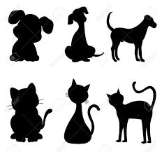 Disegni Stilizzati Cani E Gatti Dog Animali Animali Domestici E