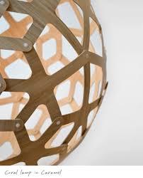 modern lighting vancouver. David Trubridge Coral Lamp In Caramel Modern Lighting Vancouver E