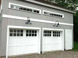 14 foot tall garage door designs