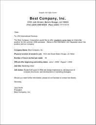 Acceptance Letter For Offer Job Offer Letter Joining Sample Pdf Appointment Format In