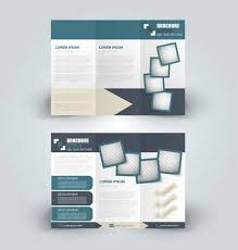 Printable Tri Fold Brochure Template Adorable Brochure Design Template For Business Education Advertisement