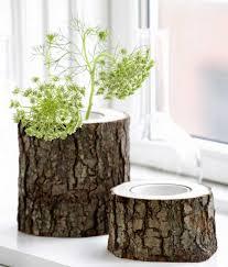log furniture ideas. Vase-of-log Log Furniture Ideas I