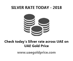 Gold Rate In Dubai Chart 2018 Silver Rate Chart In Uae Highest Lowest Silver Prices Uae
