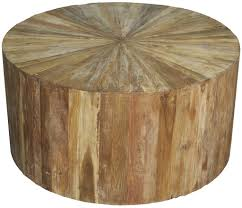 amazing brown dark brown reclaimed wood round coffee table