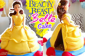 Belle Doll Cake 3 Steps With Pictures