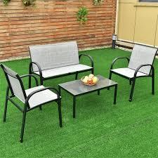 4 pcs patio furniture set
