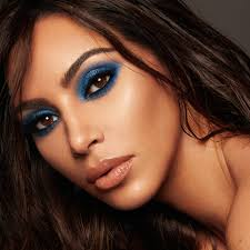 kim rarely wears color when it es to her makeup what made you add a blue shade to the palette a few of our favorite looks that we have done over the