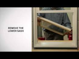 how to replace sash on andersen 400 series tilt wash double hung windows